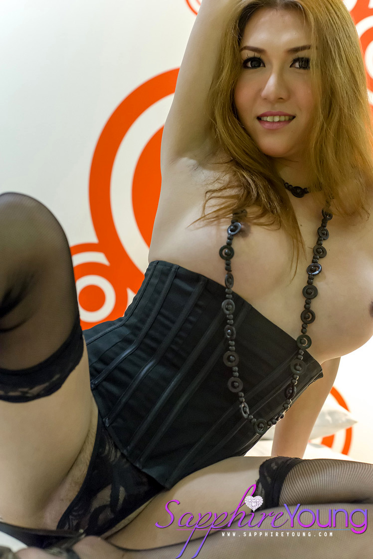 Adorably Pretty Exotic T-Girl Has A VERY ERECT Shepenis
