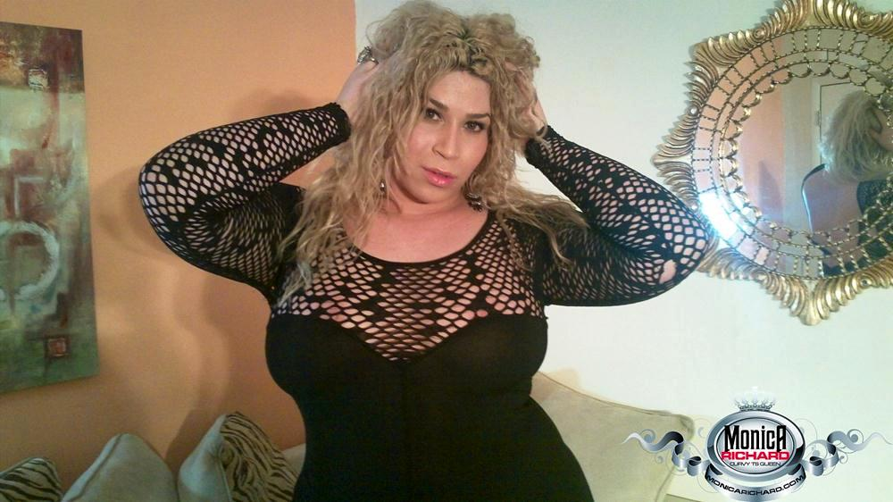 BBW Femboy In Black Dress Showing Off Her Enormous Ass-Hole