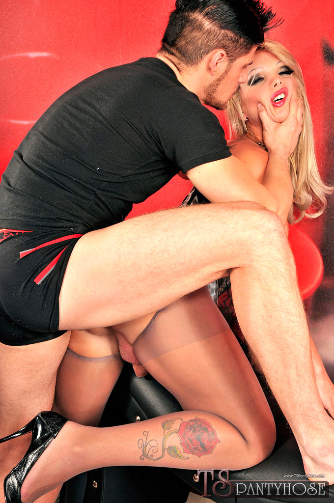 Carla Novaes Gets Smashed In Pantyhose
