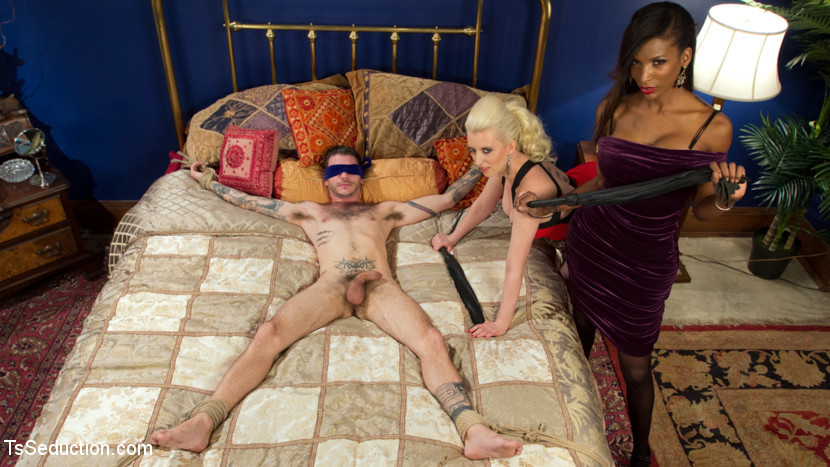 Cherry Lures Boytoy For Deep Ass-Hole Pounding 3some With Natassia Is Cock!