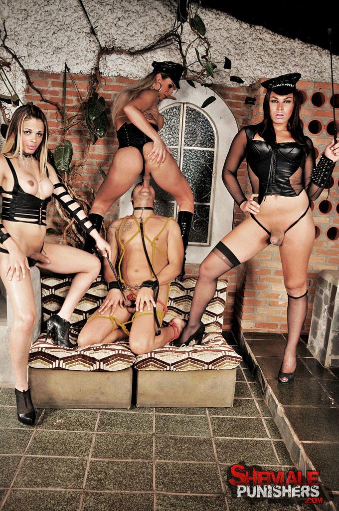 Kinky Ts Domination Gangbang