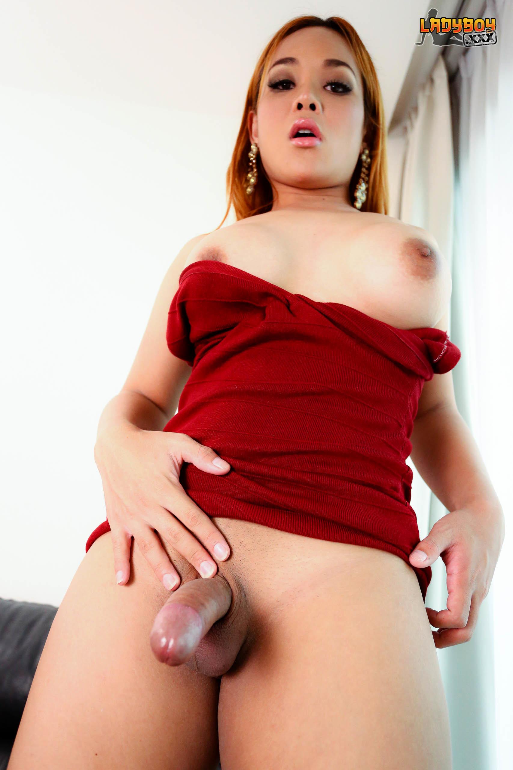 Red Sensuous Angie's Creamy Cum!