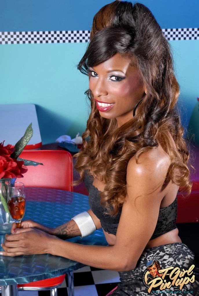 Sensual Ebony Natassia Fantasies Strips And Plays Her Candy Stick