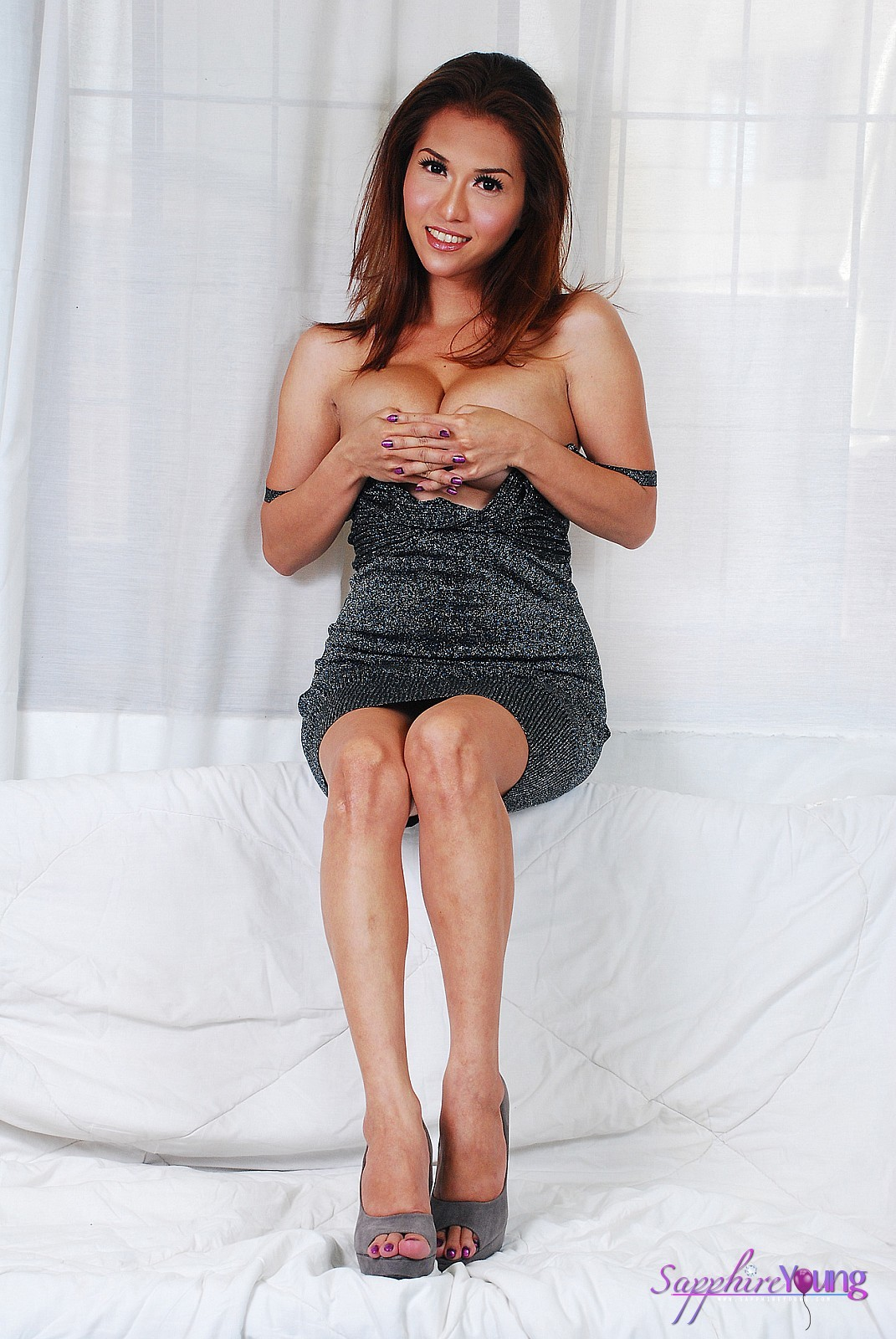 Spicy Tgirl Sapphire Young