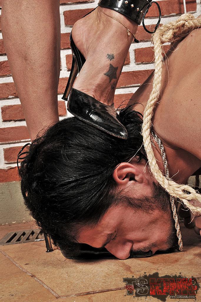 Straight Guys Worships His Femboy Mistress
