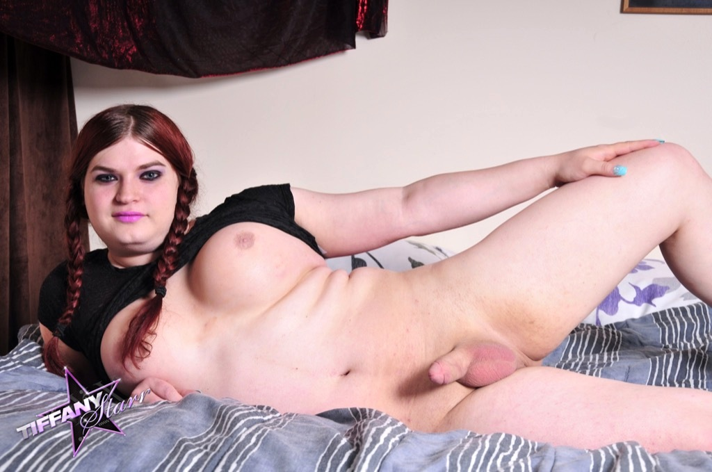 Tiffany Pleasures Herself With A Fleshlight For Her Tool And A Sextoy Up Her Asshole