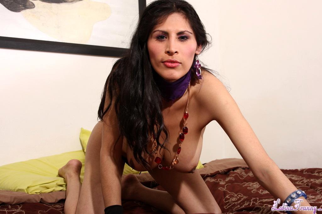 TS Mariysa Posing Her Massive Breasts Tool