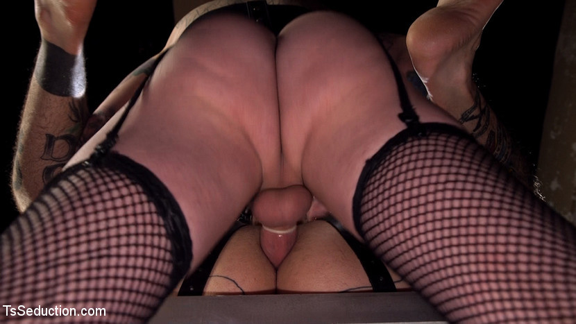 Yes, Mistress: Devoted Slave Worships Titillating Dominatrix Cock!