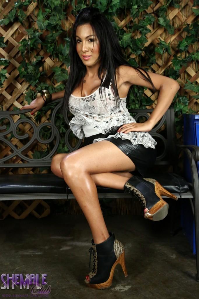 Incredible Ts Nathali Stripping And Posing