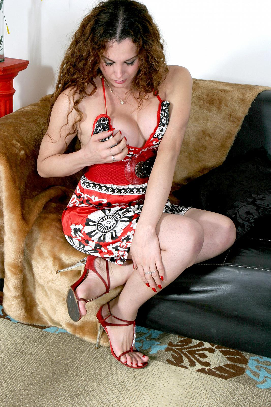 Latina Femboy Camila Spreads Her Legs To Stroke Her Cock.